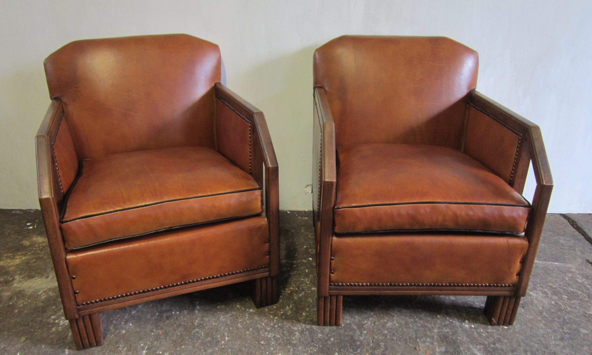 Pair of armchairs Art deco