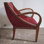 Art Deco armchair - Detail 1