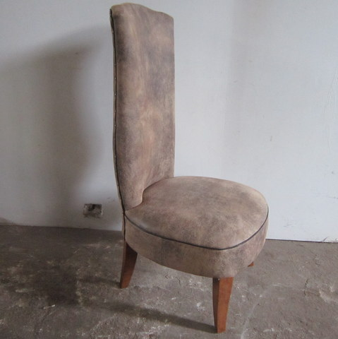 Large 1930s fireside chair