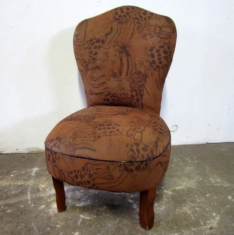 1930s vintage fireside chair