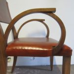 Six Art Deco Chairs - Detail 2