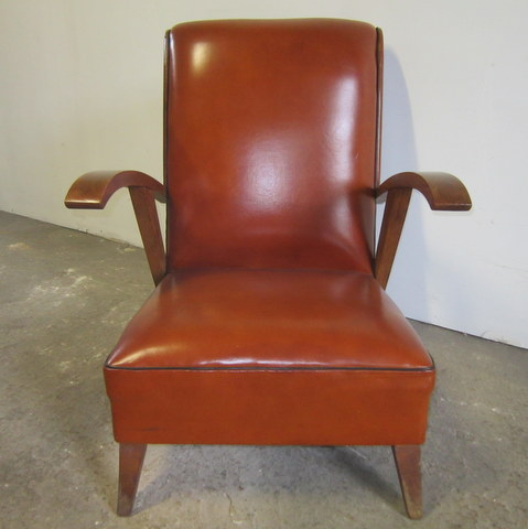 Vintage Armchair with Armrests