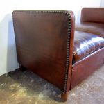 1930's chaise longue sofa - Detail 1