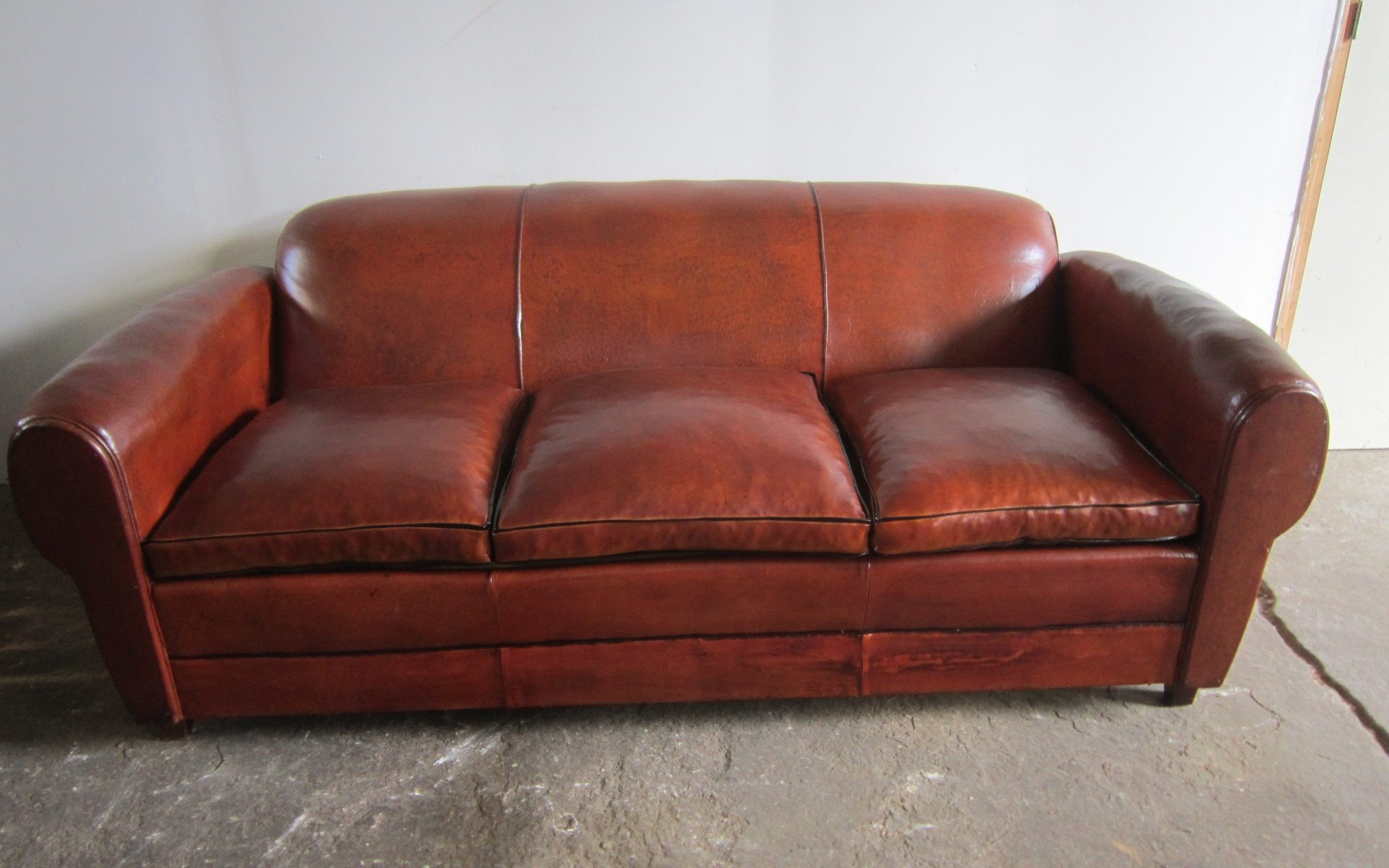 1950s Club couch
