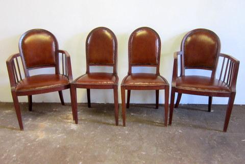 Fauteuils et chaises art déco