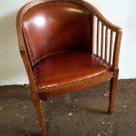 Banquette et fauteuil art déco - Detail 2