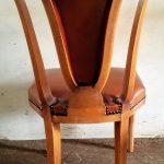 Chaises art déco - Detail 2