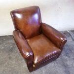 Paire de fauteuils club ancien - Detail 1