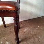 Chaise acajou - Detail 3